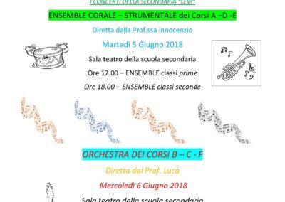 ICS Primo Levi | Immagine: I CONCERTI DI FINE ANNO Secondaria Levi 2018