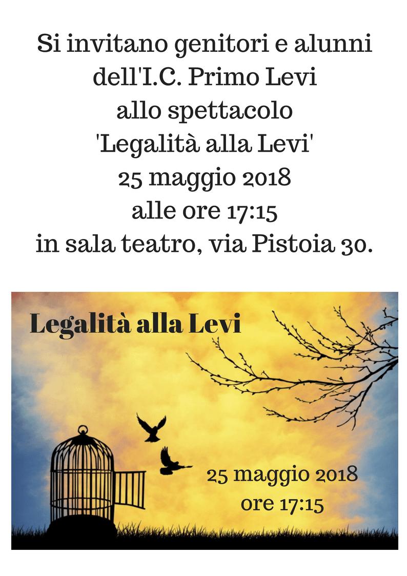ICS Primo Levi | Immagine: Legalita alla Levi 1 2