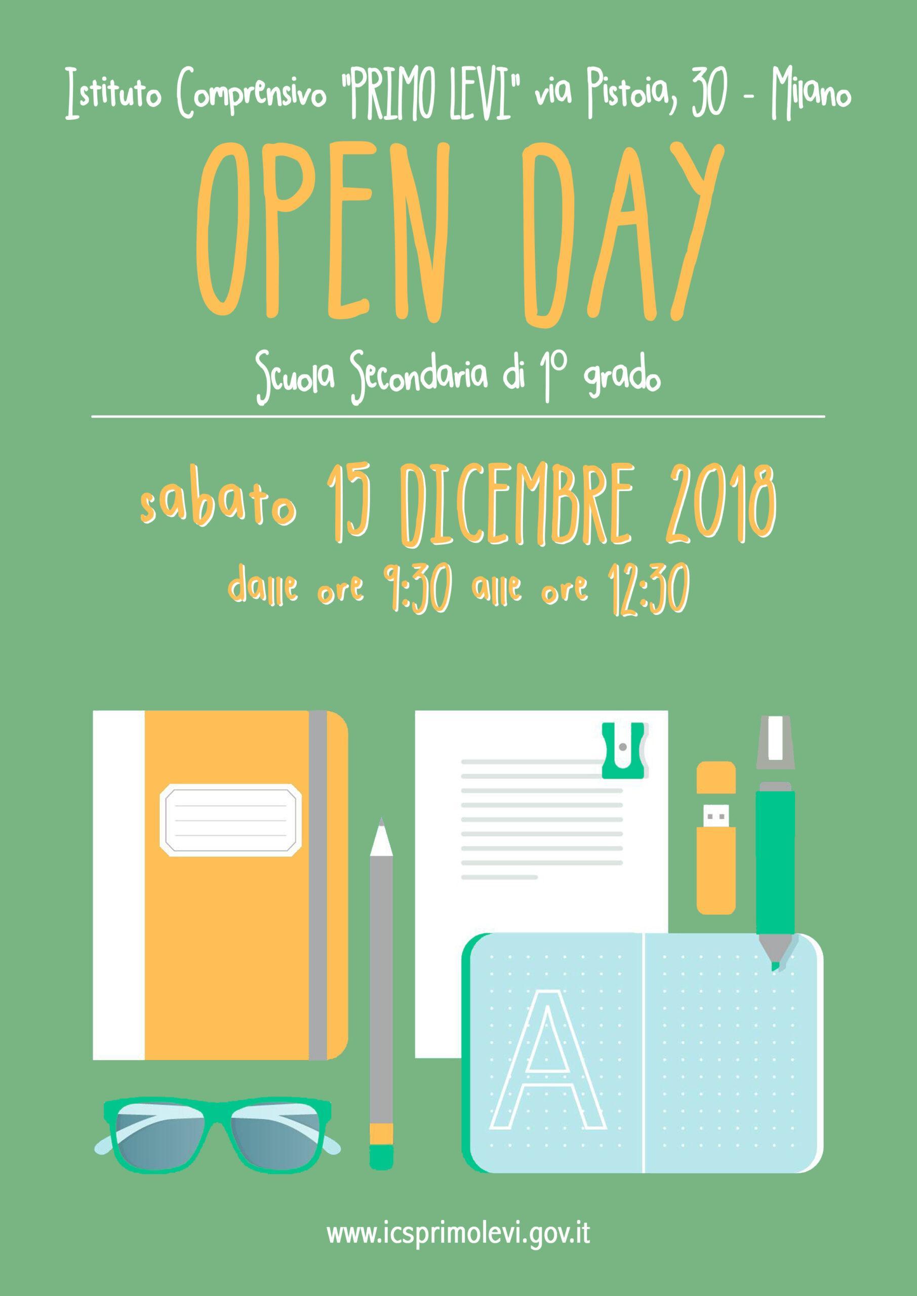 ICS Primo Levi | Immagine: open day secondaria Levi 1 scaled